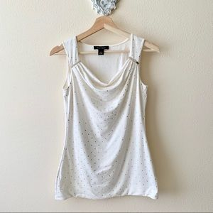 White House Black Market sleeveless blouse
